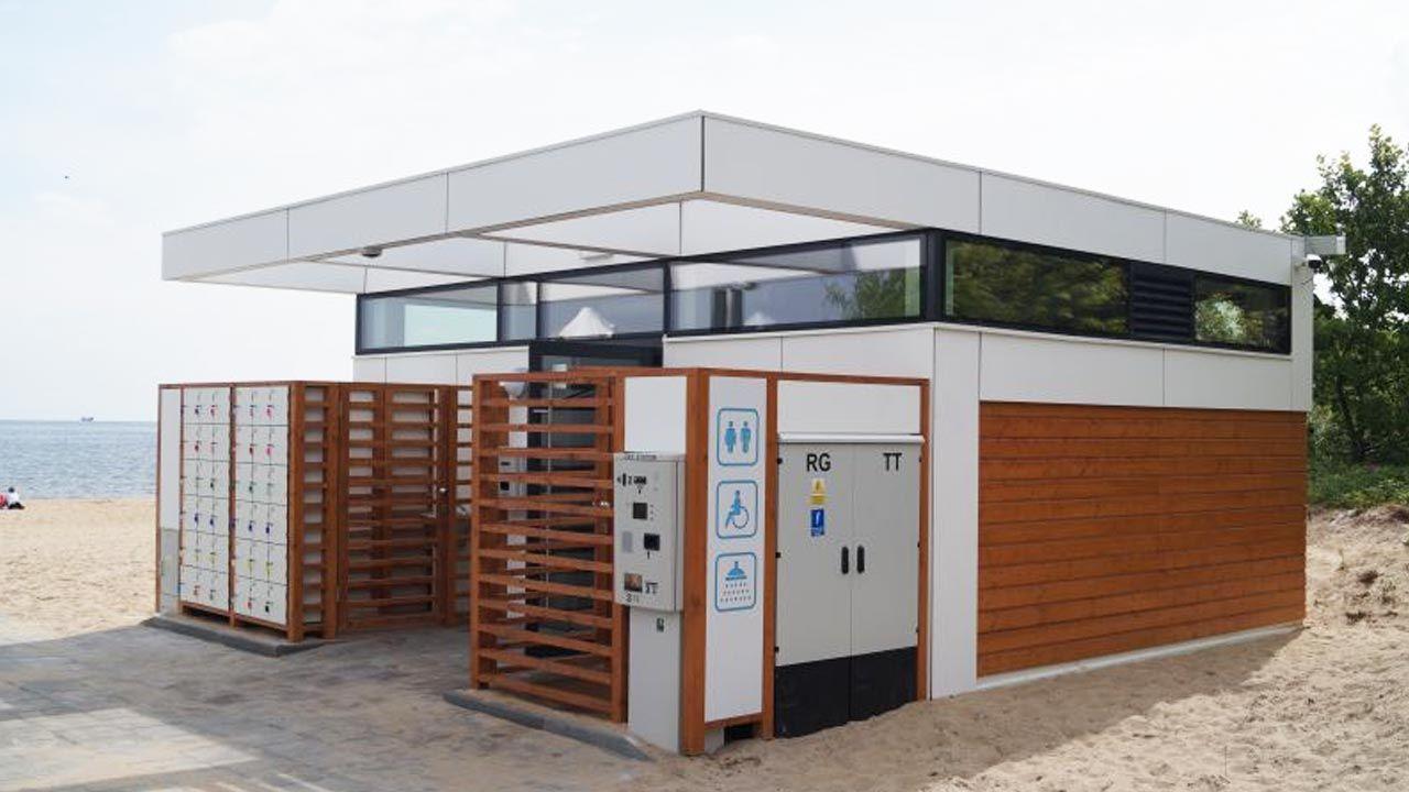 Toalety są dobrze wyposażone (fot. Dyrekcja Rozbudowy Miasta Gdańsk)