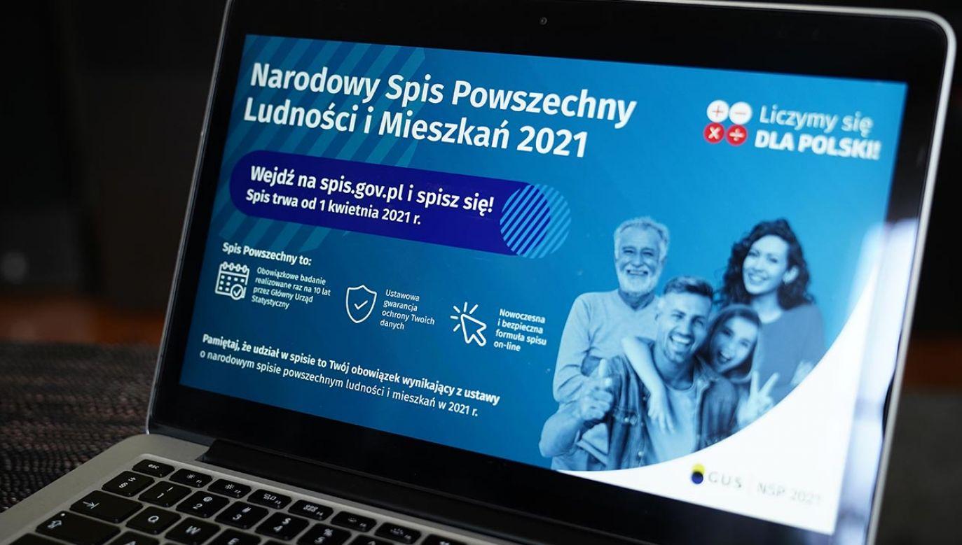 Spis powszechny potrwa do końca września (fot. Forum/Mateusz Wlodarczyk)