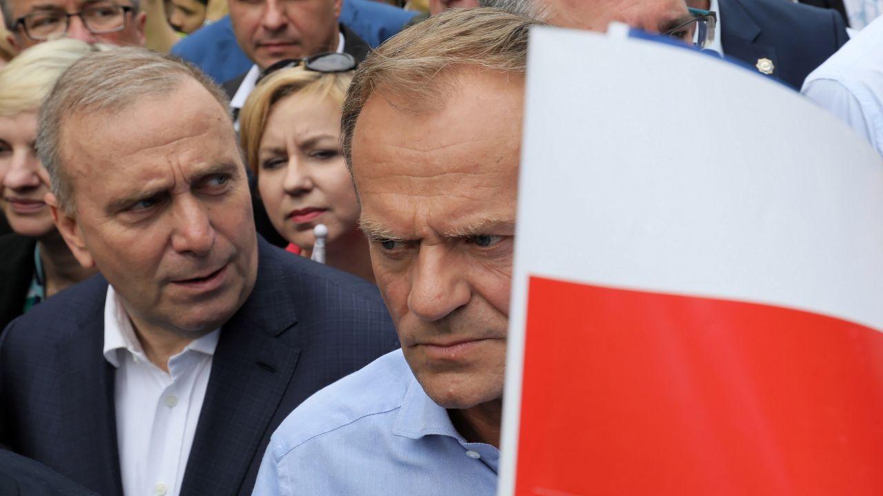 Politycy PO o powrocie Tuska na polską scenę polityczną (fot.arch.PAP/Paweł Supernak)