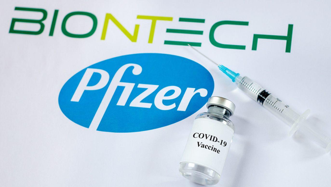 Zamieszanie wywołał piątkowy komunikat firmy Pfizer (fot. Shutterstock/Lutsenko_Oleksandr)