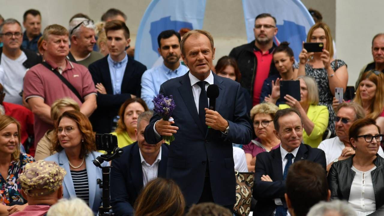Co oznacza powrót Donalda Tuska? (fot. PAP/Marcin Bielecki)