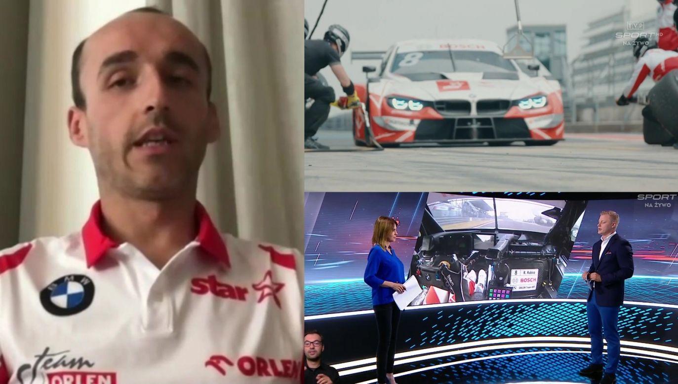 Robert Kubica DTM (fot. TVP)