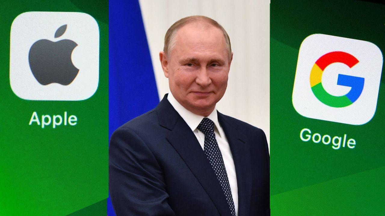 Aplikacja zawierała komunikaty ze strony internetowej opozycjonisty Aleksieja Nawalnego. Rosyjska agencja rządowa zażądała jej usunięcia (fot. Shutterstock/Koshiro, EVGENY BYATOV/SPUTNIK/KREMLIN POOL)