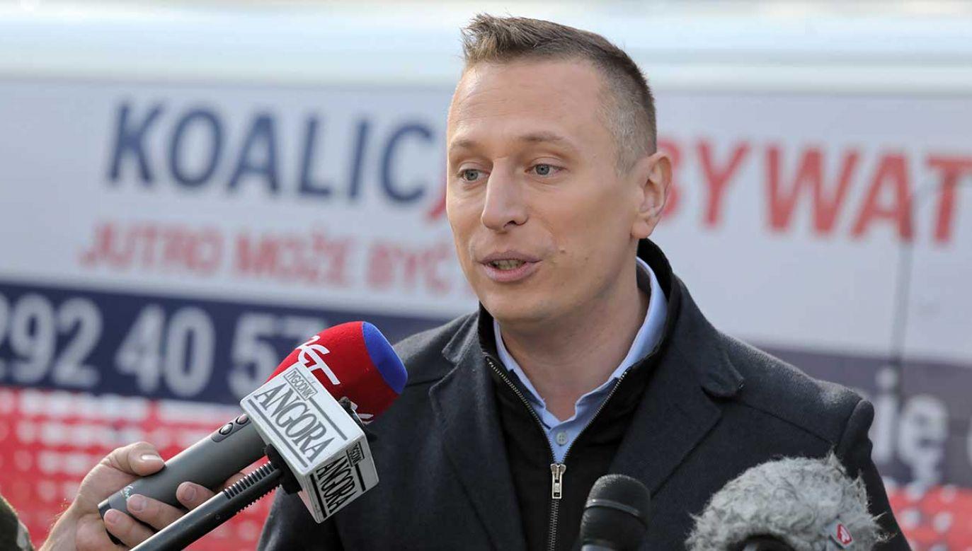 """""""Można było się spodziewać, że na tych metodach PO oprze swoją kampanię wyborczą"""" (fot. PAP/Tomasz Gzell)"""