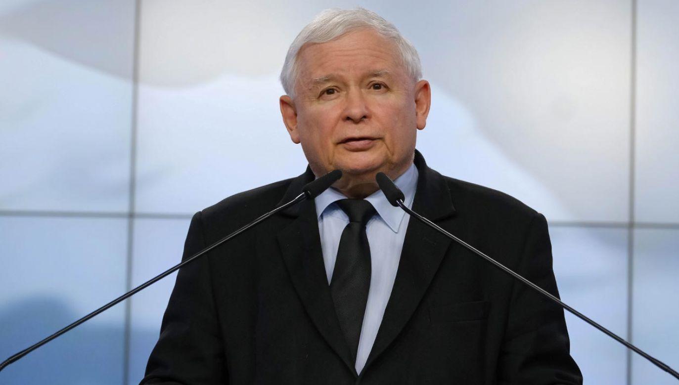 Jarosław Kaczyński (fot. PAP/Mateusz Marek)