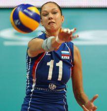 Jekatarina Gamova w akcji (fot. Getty Images)