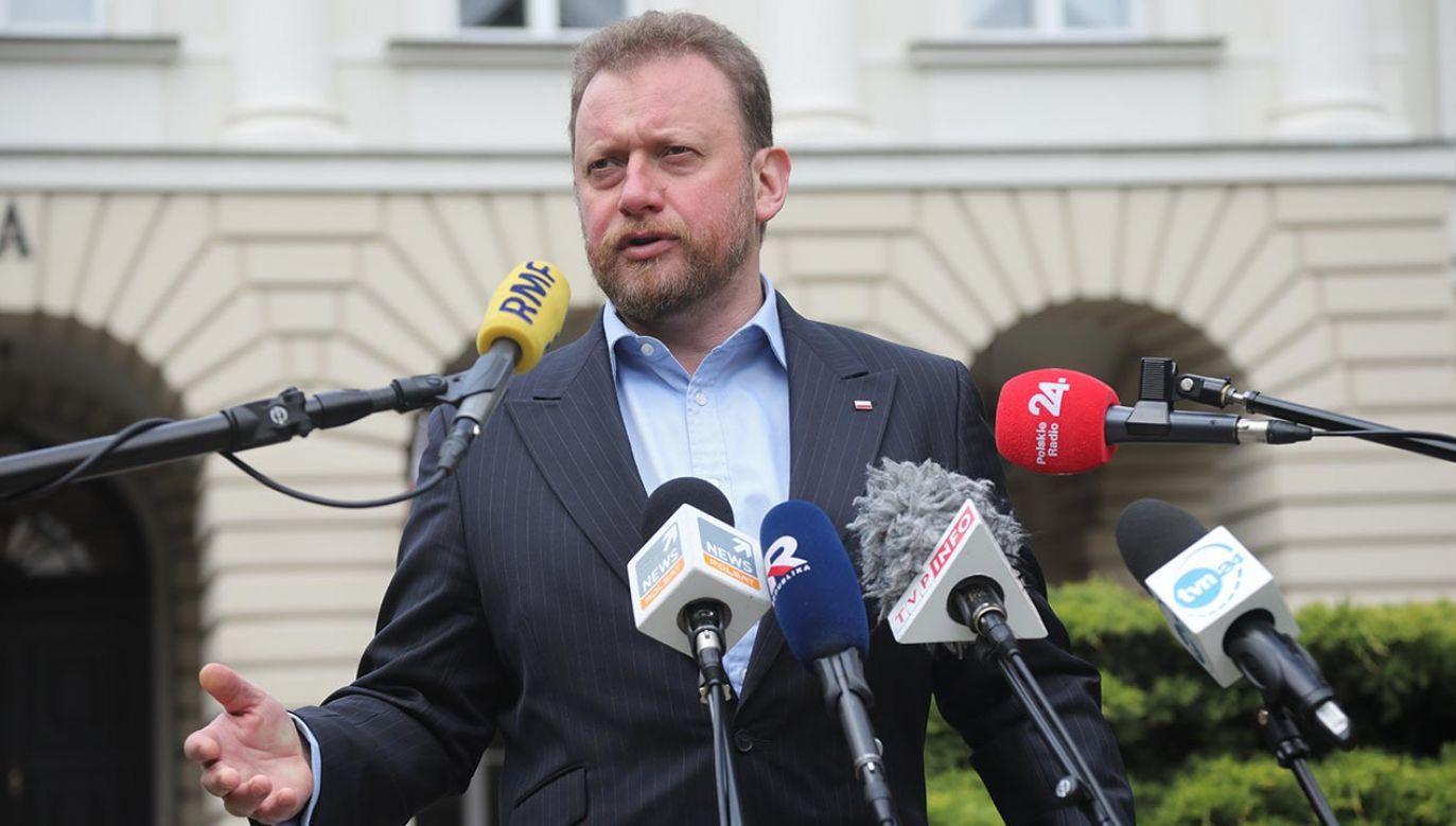 W czasie rządów PiS mój brat miał znacznie gorszą skuteczność ws. grantów i dofinansowania – podkreśla minister zdrowia (fot. PAP/Wojciech Olkuśnik)