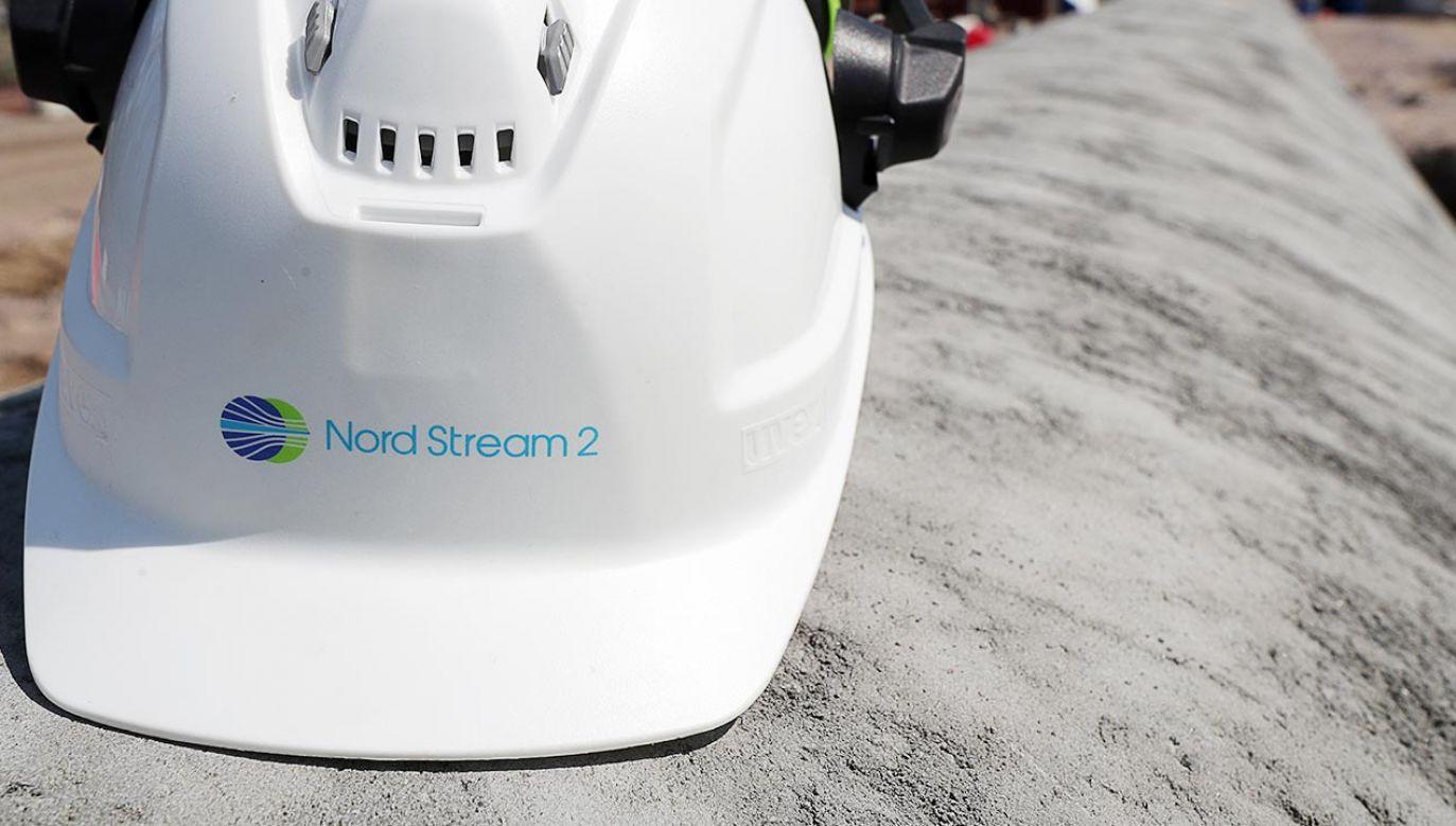 Według Hochsteina sankcje ze strony USA przeciwko Nord Stream 2 mogłyby tylko opóźnić gazociąg (fot. Alexander Demianchuk\TASS via Getty Images)