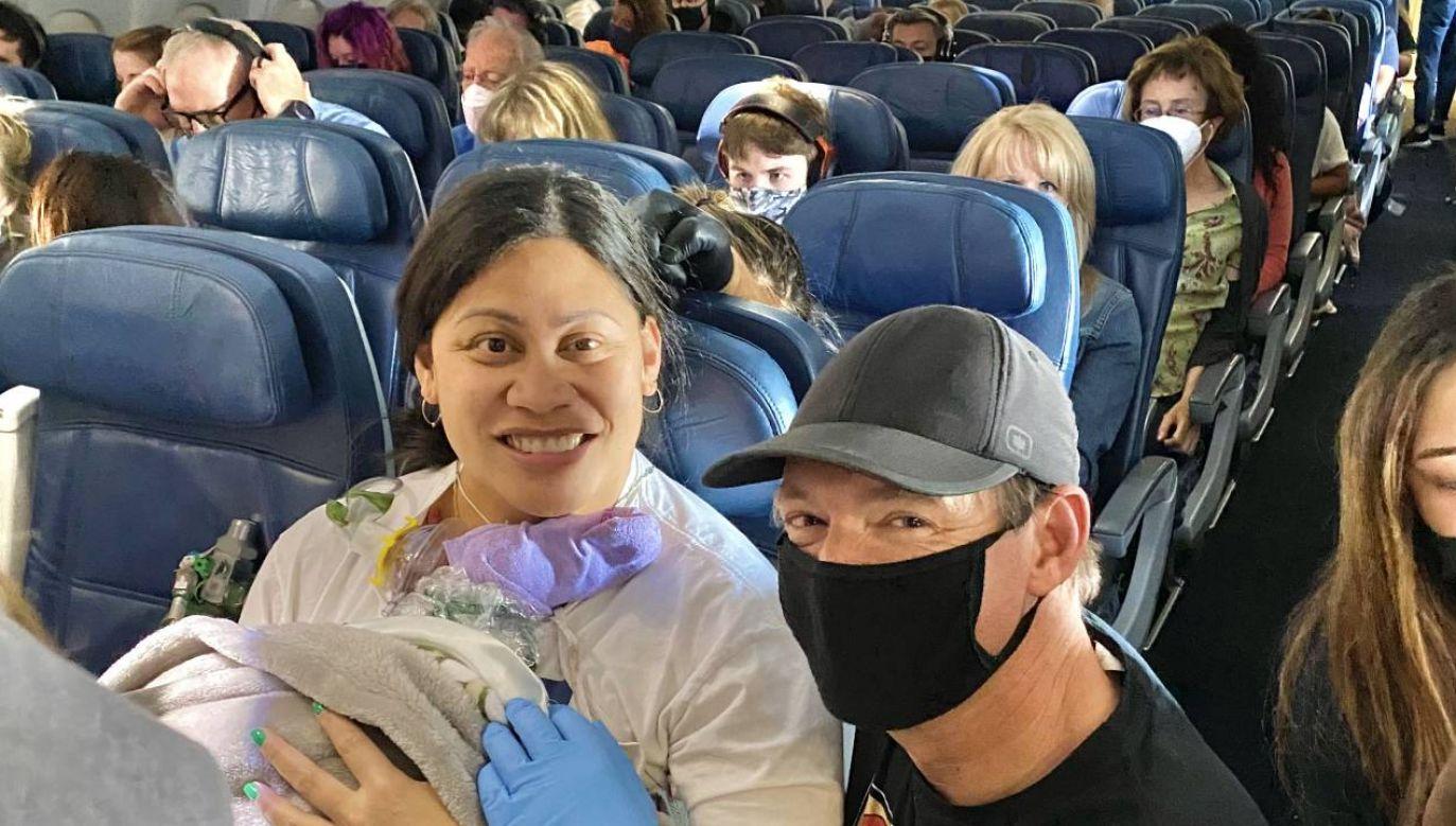 39-letnia Lavinia Mounga i jej synek zostaną jakiś czas na Hawajach (fot. Hawai'i Pacific Health)