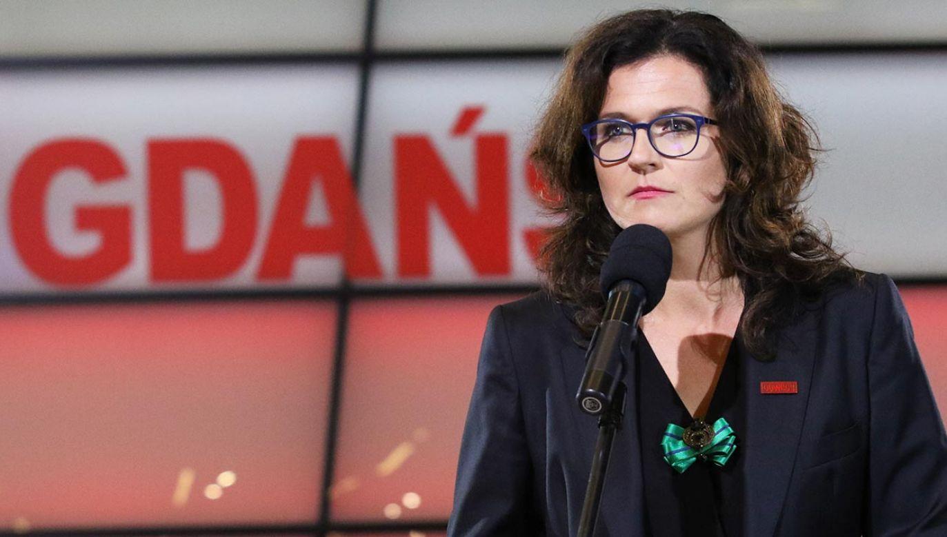 Aleksandra Dulkiewicz (fot. Michal Fludra/NurPhoto via Getty Images)