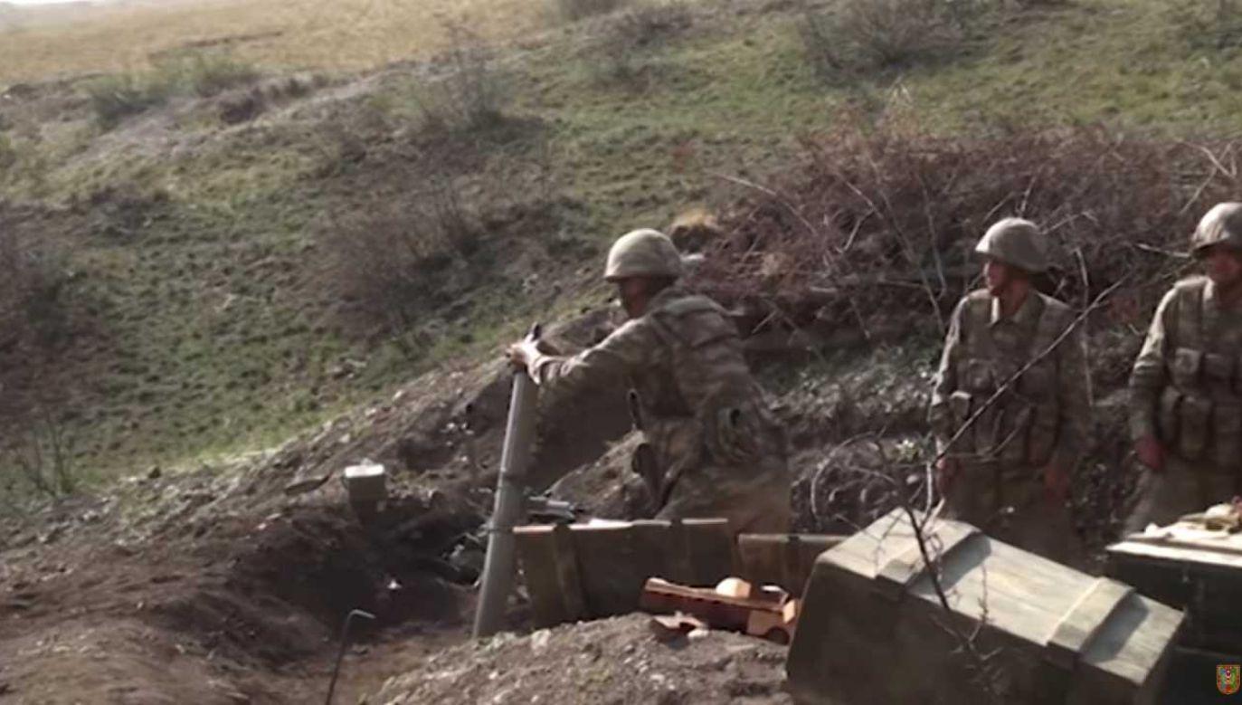 Konflikt trwa od dziesięcioleci (fot. PAP/EPA/AZERBAIJAN DEFENCE MINISTRY / HANDOUT)