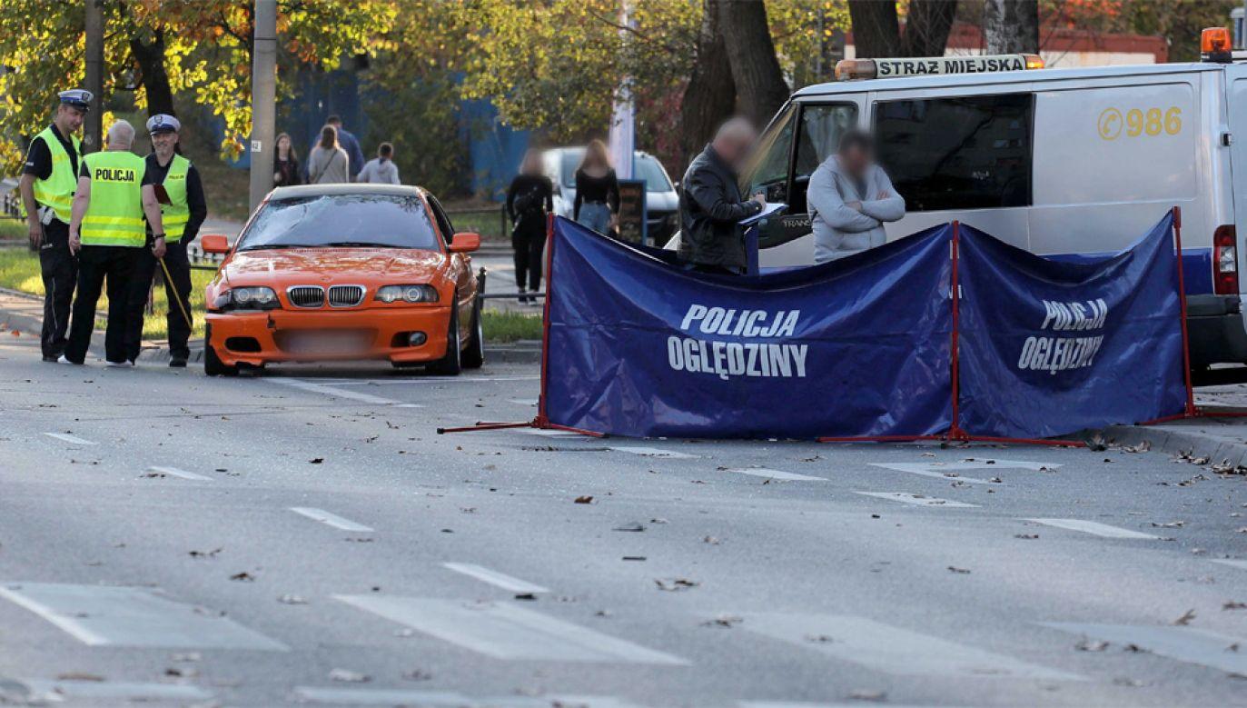 Mieszkacy Bielan ostrzegali, że na Sokratesa może dojść do tragicznego wypadku (fot. PAP/Paweł Supernak)