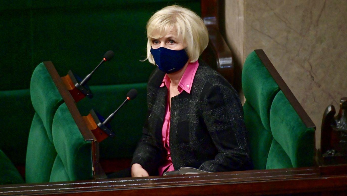 Lidia Staroń (fot. PAP/Marcin Obara)