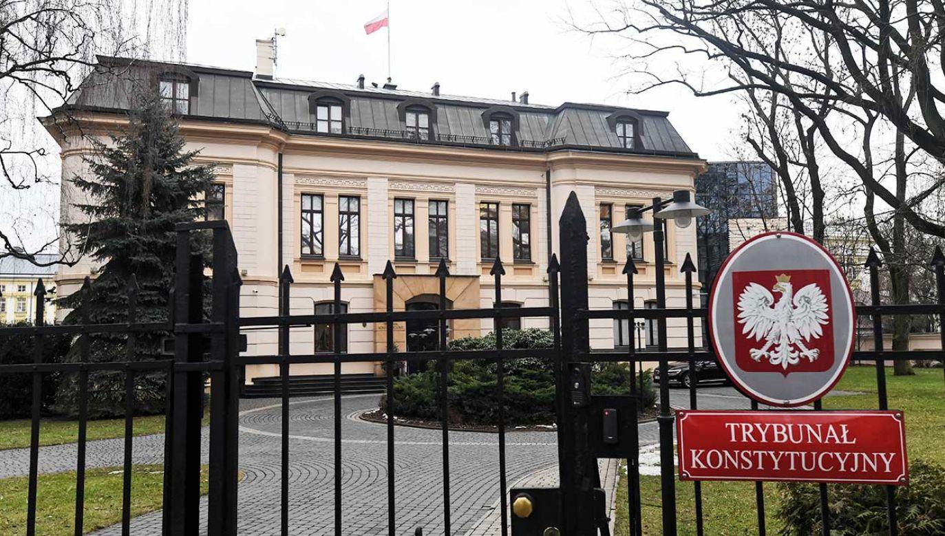 Ustawa ws. jawności majątku rodzin polityków została skierowana  do Trybunału Konstytucyjnego (fot. arch.  PAP/Bartłomiej Zborowski)