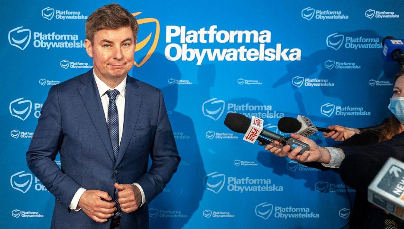 Jan Grabiec (fot. Forum/FotoNews/GRZEGORZ KRZYZEWSKI)