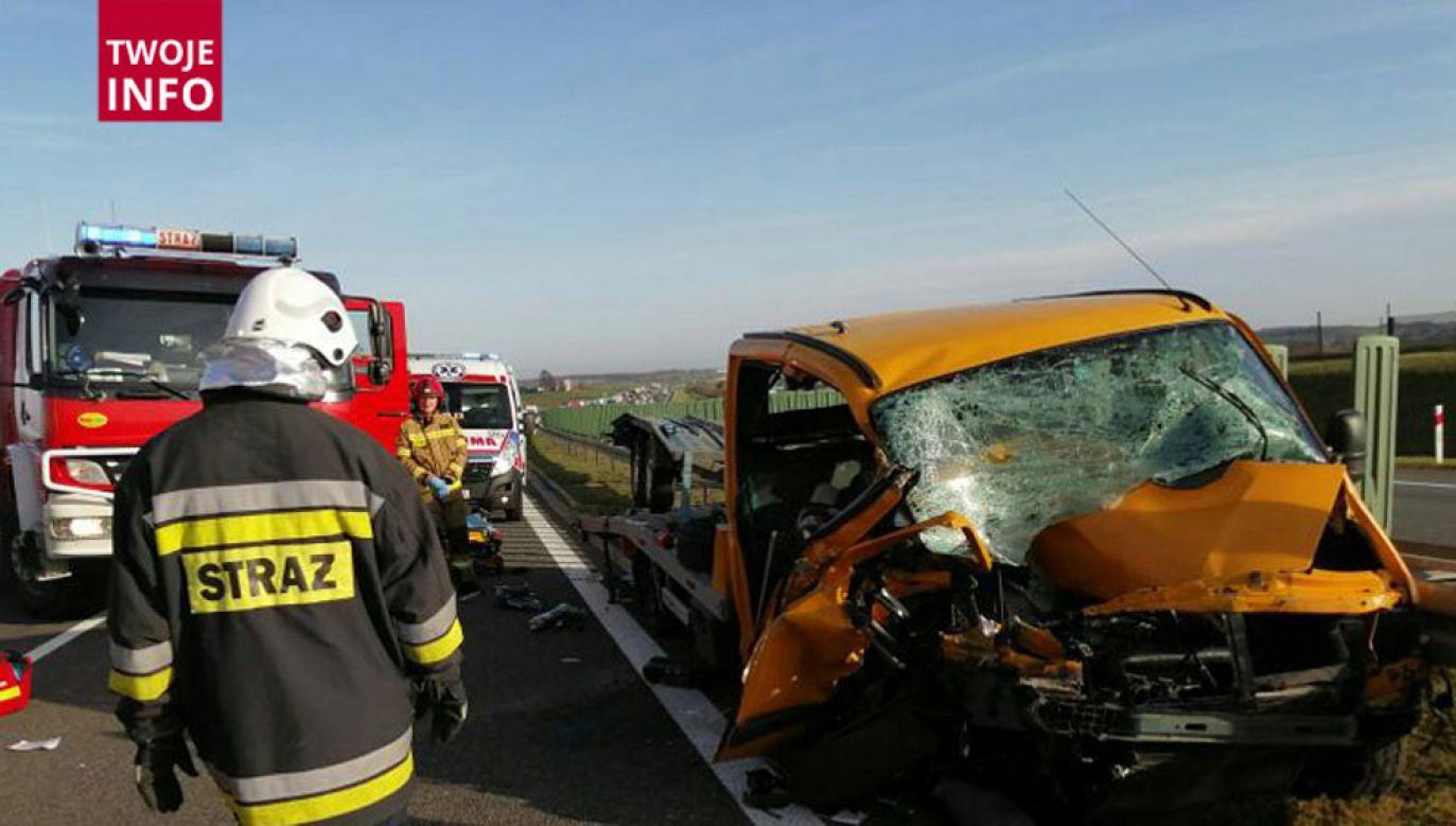 W akcji ratowniczej uczestniczyły dwa śmigłowce LPR (fot. Twoje Info)