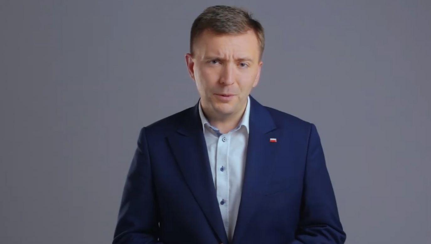 Poseł na Sejm Łukasz Schreiber (fot. facebook/Łukasz Schreiber)