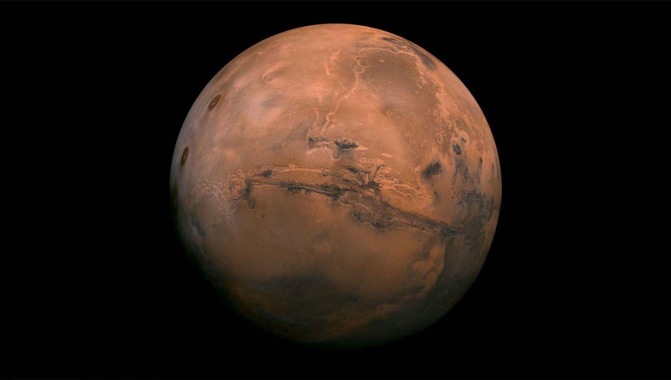 Dowód dostarczyły wieloletnie obserwacje Marsa (fot. NASA)