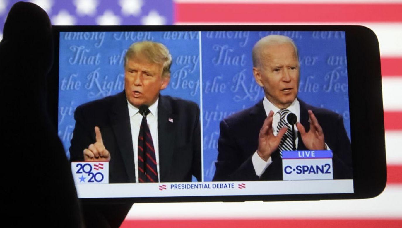 Trump domaga się ponownego przeliczenia głosów (fot. Pavlo Conchar/SOPA Images/LightRocket via Getty Images)