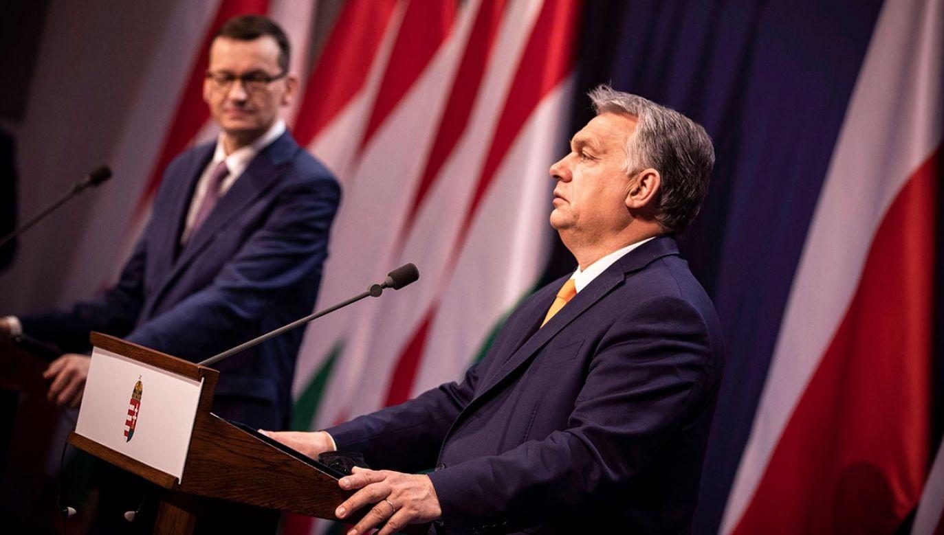 Viktor Orbán przyjechał do Warszawy na spotkanie z premierem Polski (fot. Zoltan Fischer/ Hungarian PM' Press Office HANDOU)