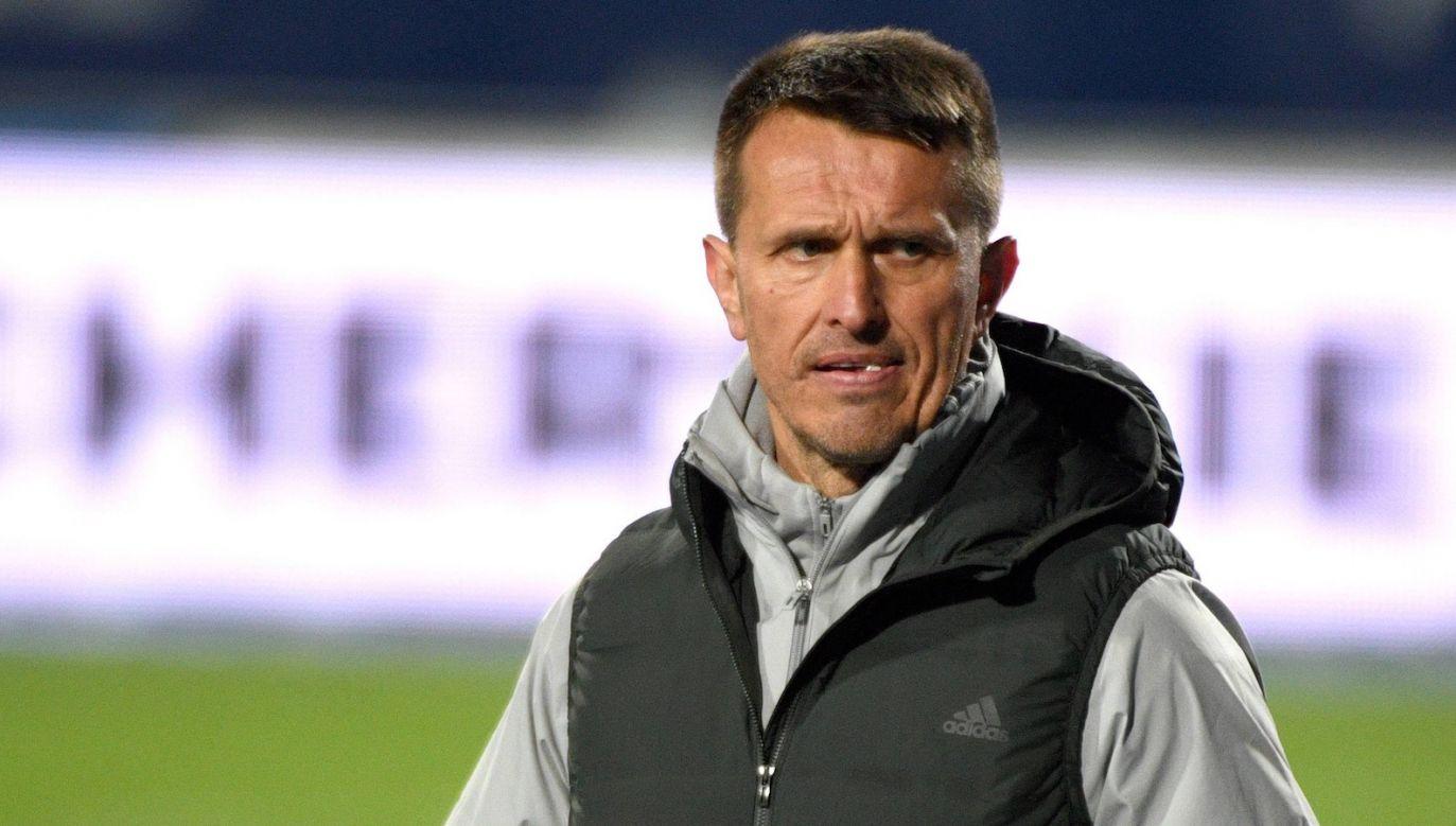 Leszek Ojrzyński nie jest już trenerem Stali (fot. PAP)
