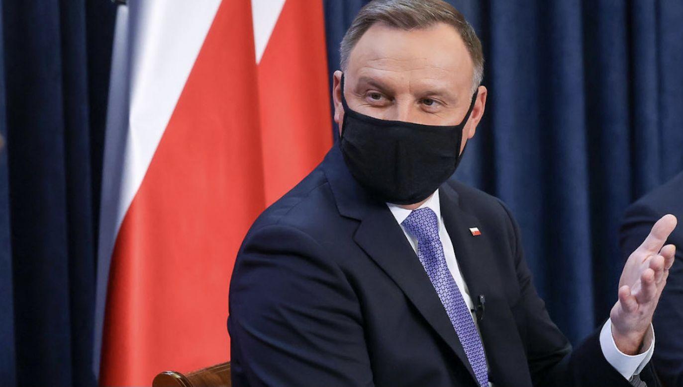 Prezydent Andrzej Duda (fot. Grzegorz Jakubowski/KPRP)
