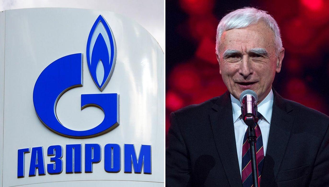 Kontrakt PGNiG z Gazpromem kończy się 31 grudnia 2022 roku (fot. Igor Golovniov/SOPA Images/LightRocket via Getty Images;Forum/Gazeta Polska/Marcin Pegaz)