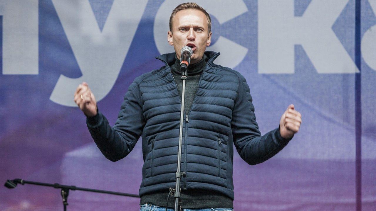 Sekretarz stanu USA Mike Pompeo skrytykował aresztowanie Aleksieja Nawalnego (fot. Celestino Arce/NurPhoto via Getty Images)