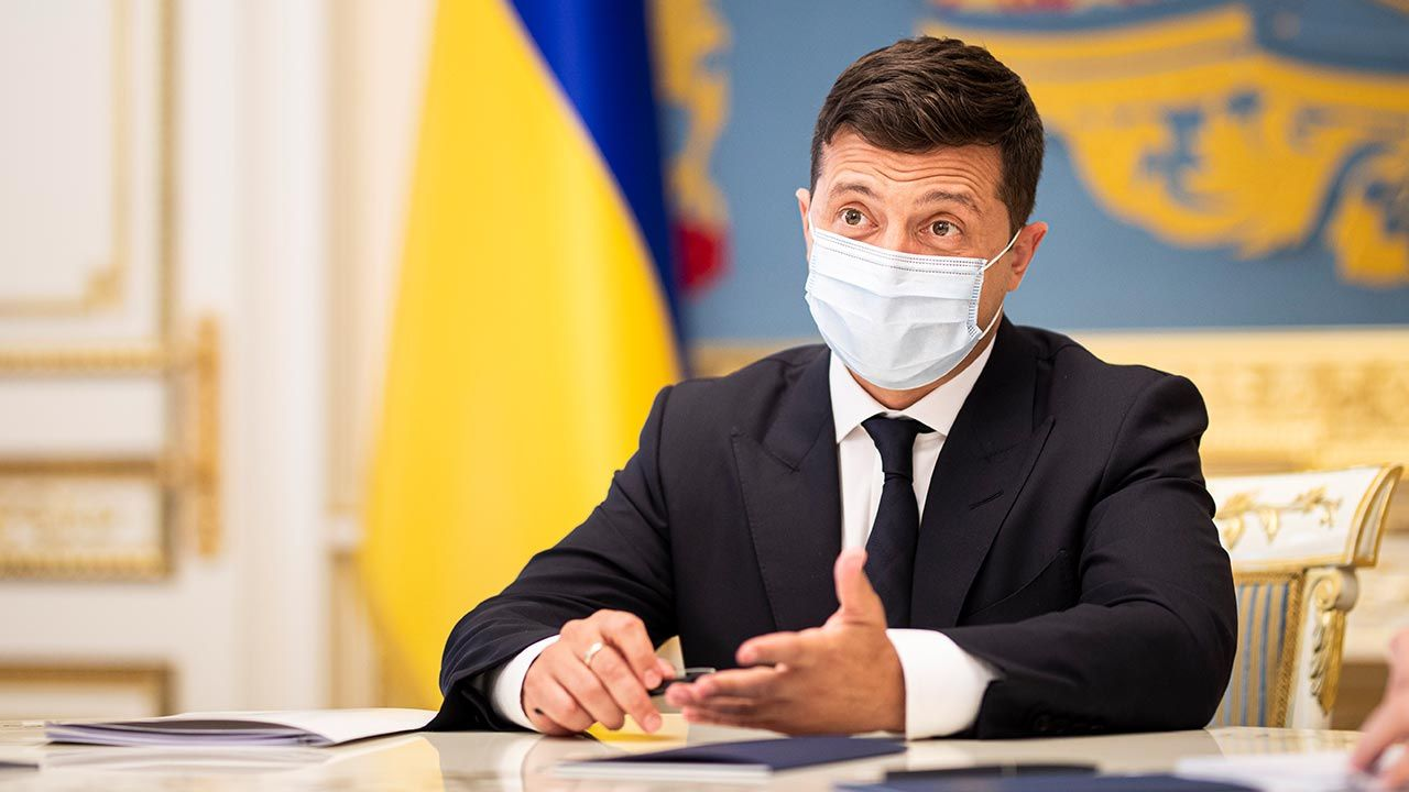 Prezydent Ukrainy Wołodymyr Zełenski (fot. Florian Gaertner/Photothek via Getty Images)