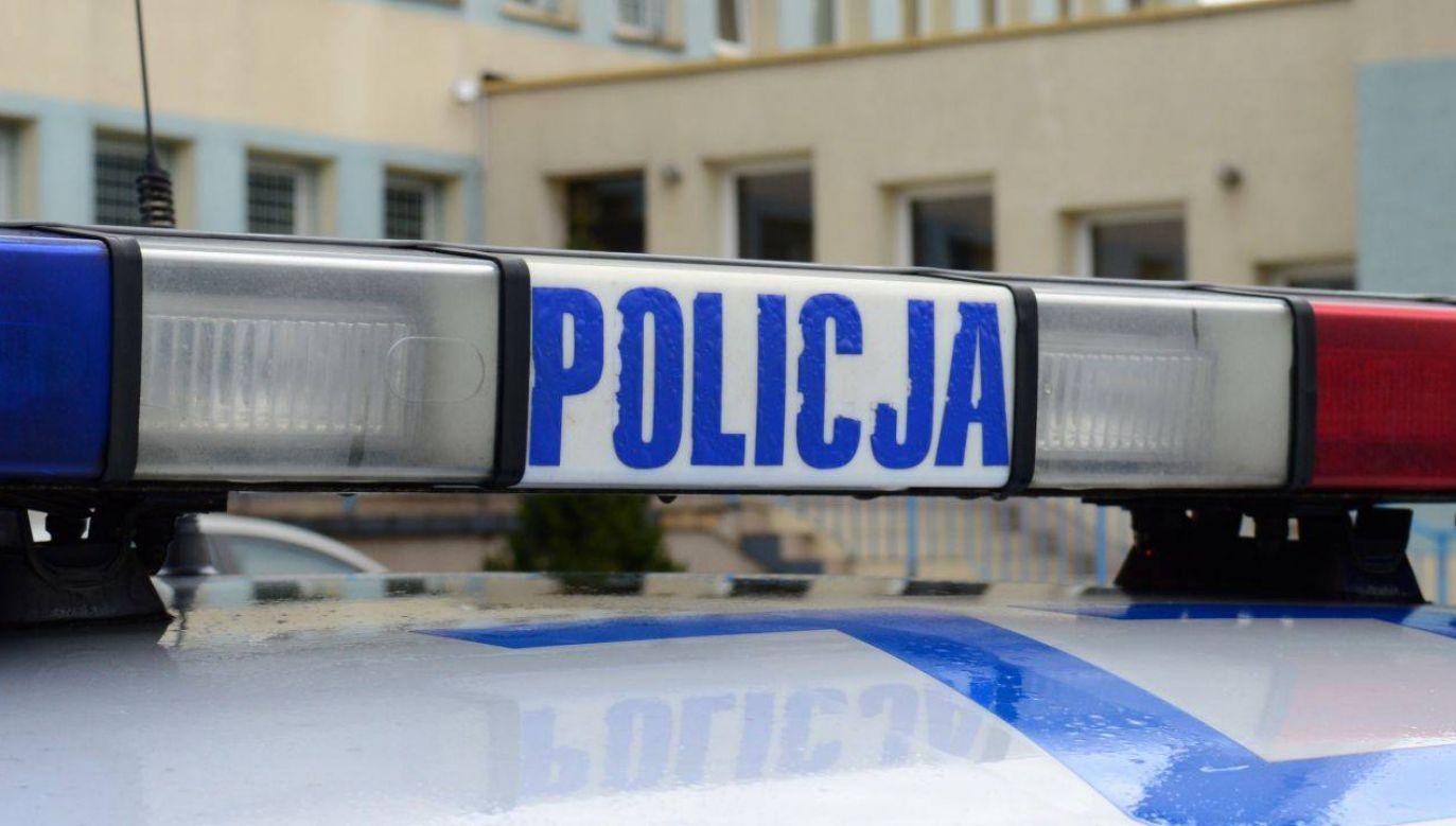 Policja wyznaczyła objazdy (fot. tvp.inf/Paweł Chrabąszcz)