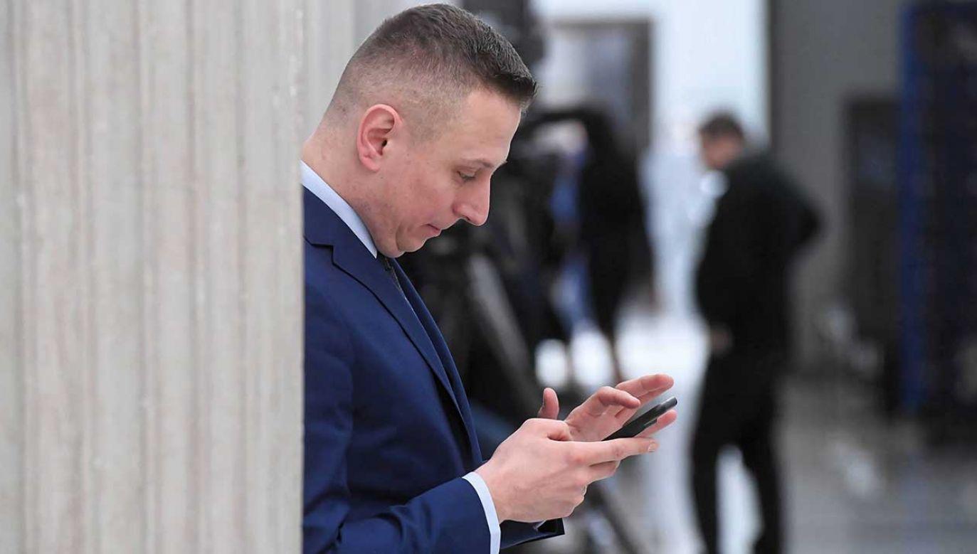 Poseł Krzysztof Brejza jest bardzo aktywny w internecie (fot. arch. PAP/Piotr Nowak)