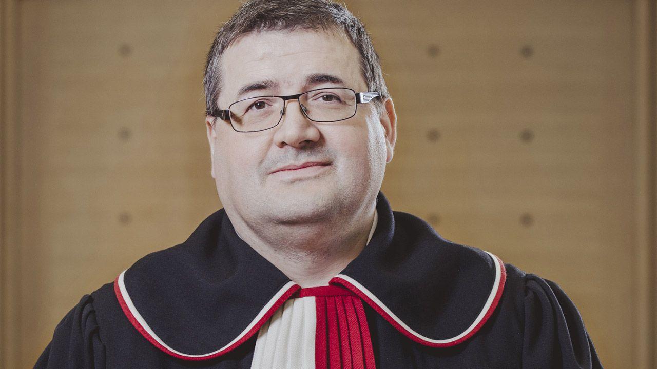 Sędzia Grzegorz Jędrejek (fot. Materiały prasowe)