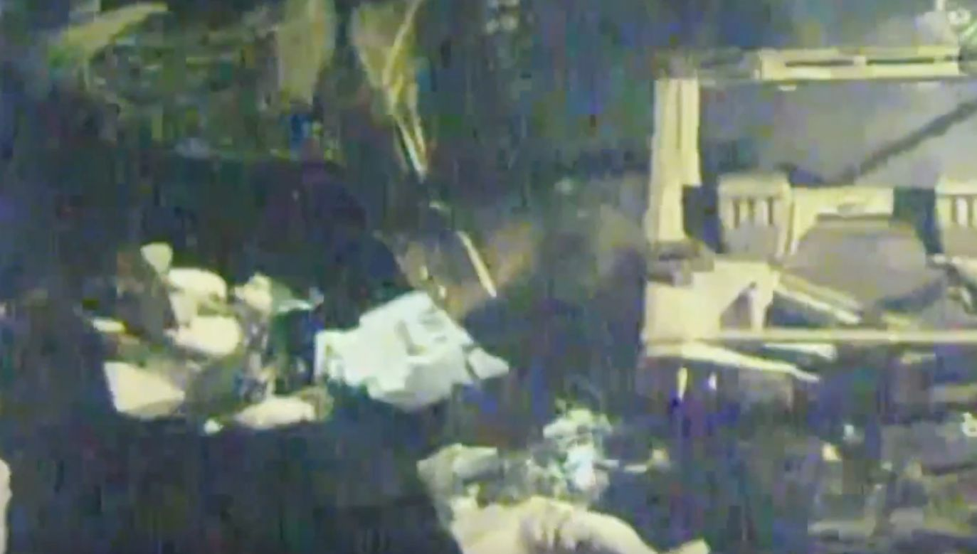 Astronauci wyszli na spacer kosmiczny poza ISS (fot. EBU/ NASA)