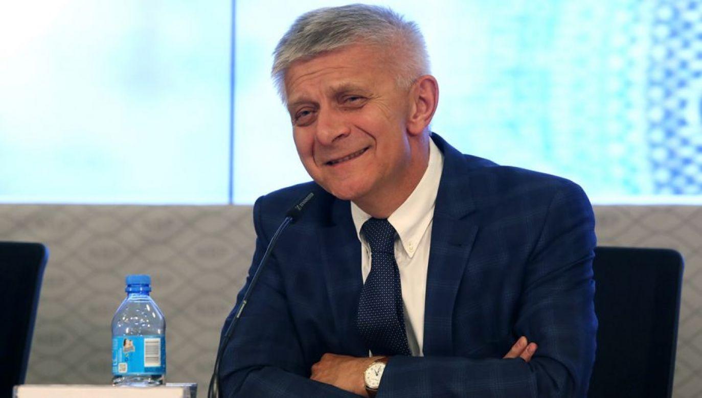 Trela potwierdza, że wśród doradców Biedronia znajdzie się wiele osób z doświadczeniem w pełnieniu funkcji publicznych, a które są utożsamiane z lewicą i zawsze były w tym środowisku (fot. arch. PAP/Tomasz Gzell)