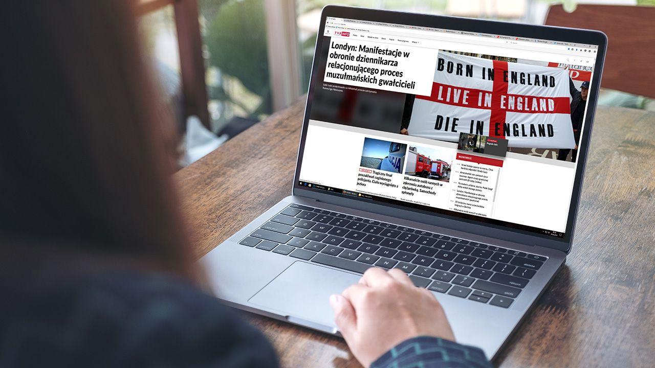 Portal tvp.info w kwietniu odwiedziło 1,33 mln realnych użytkowników (fot. Shutterstock/Farknot Architect)
