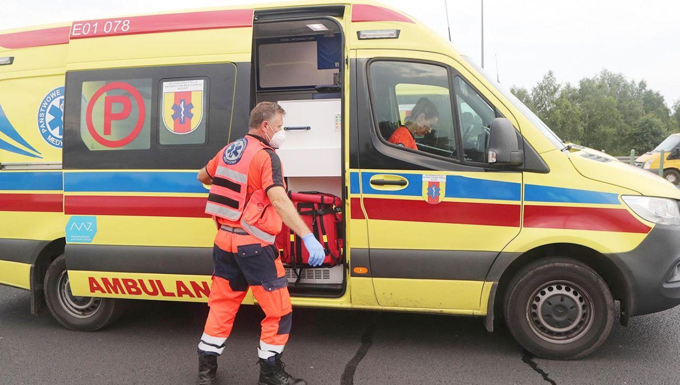 Okoliczności wypadku bada policja (fot. PAP/Roman Zawistowski)