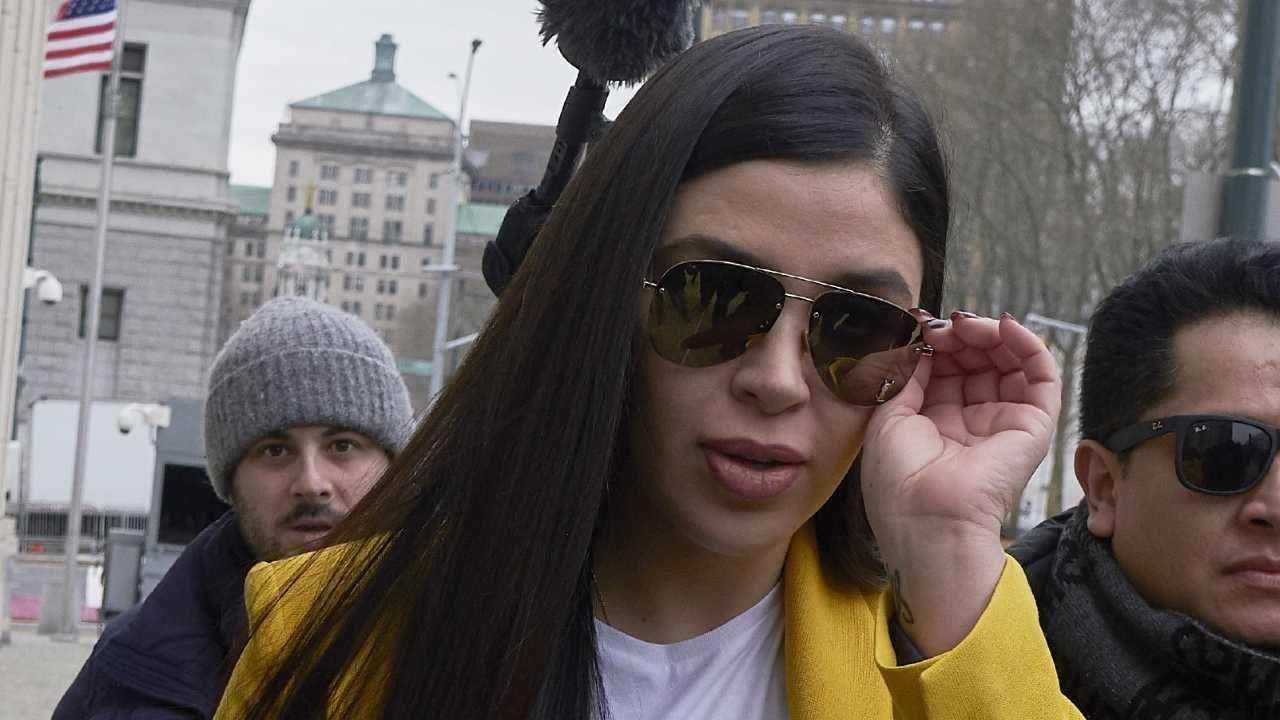 Emmy Coronel Aispuro stanie przed sądem federalnym (fot. PAP/EPA/KEVIN HAGEN)