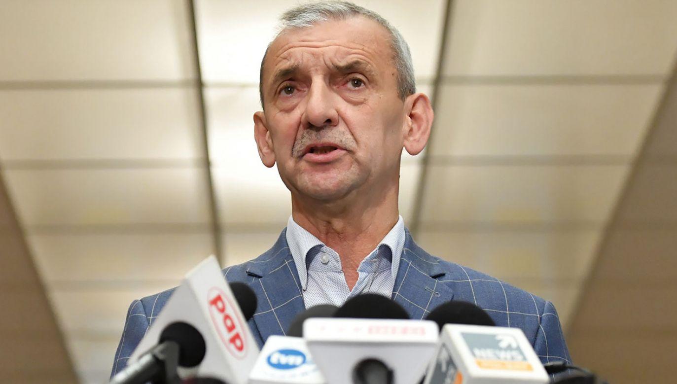 Obecny szef kieruje Związkiem Nauczycielstwa Polskiego od 1998 r. (fot. arch.PAP/Piotr Nowak)