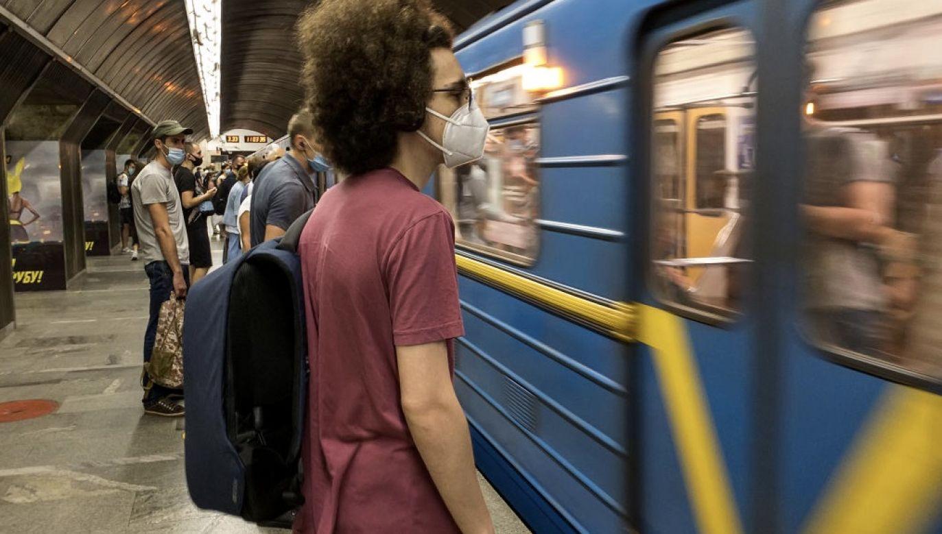 Śledczy SBU odkryli, że wyprowadzono ponad 4 mln hrywien (fot. Maxym Marusenko/NurPhoto via Getty Images)