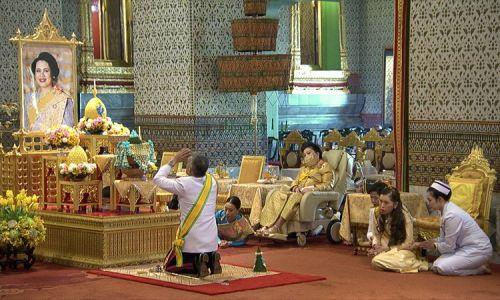 5 maja. Ciąg dalszy uroczystości w pałacu królewskim w Bangkoku. Fot. Public Relations Department, Thailand/Getty Images