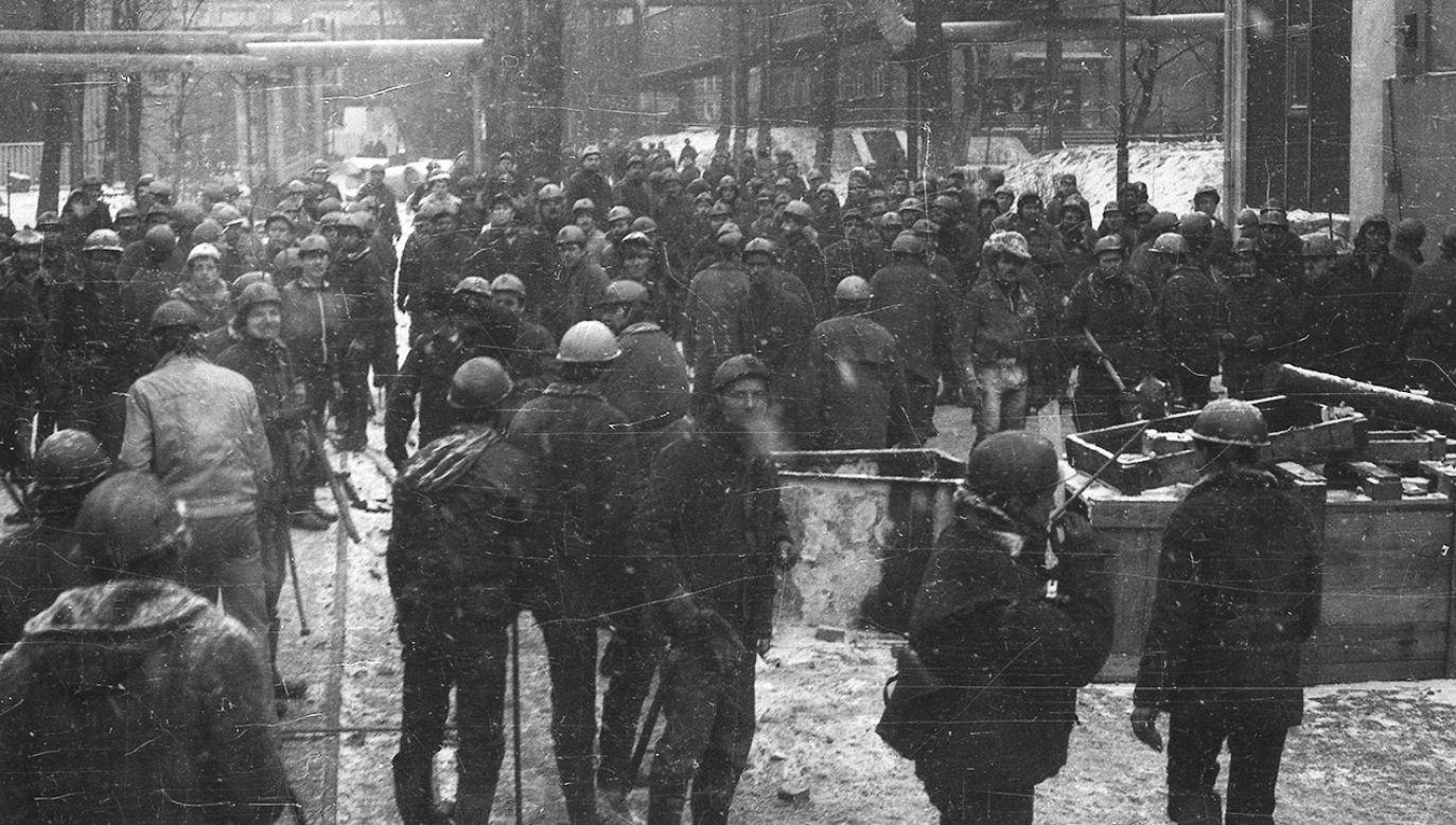 W czwartek przed katowickim sądem zakończył się proces b. zomowca (fot. arch. PAP/Marek Janicki)