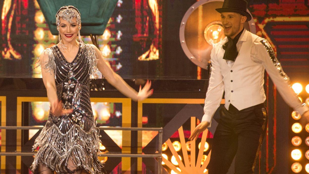 Oliwia Górniak pokazała niesamowitą charyzmę na scenie i świadome uczestnictwo w widowisku. Agustin Egurrola był z niej bardzo dumny! To była taneczna perełka! (fot. TVP)