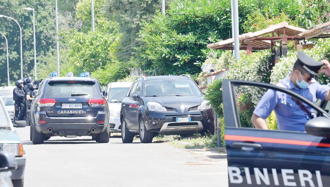 Trzy ofiary strzelaniny pod Rzymem (fot. PAP/EPA/CLAUDIO PERI)