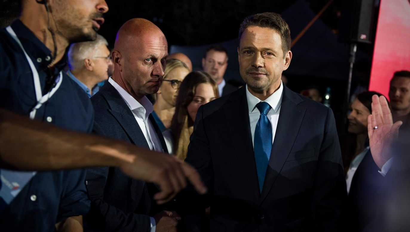 Wiceszef PO otrzymał 48,79 proc. i przegrał wyścig do Pałacu Prezydenckiego (fot. Attila Husejnow/SOPA Images/LightRocket via Getty Images)