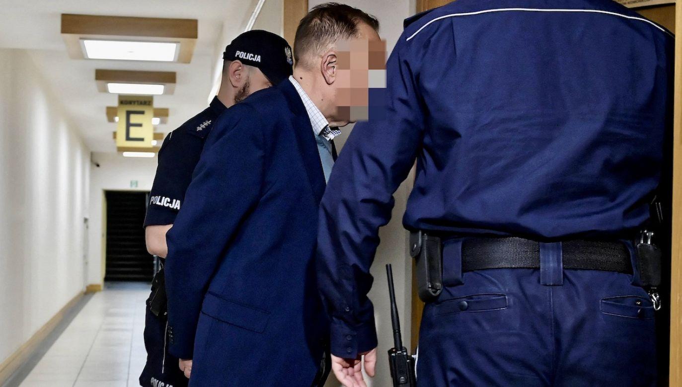 Lekarze ocenią, czy Marek M, może brać udział w postępowaniu (fot. arch.PAP/Marcin Obara)
