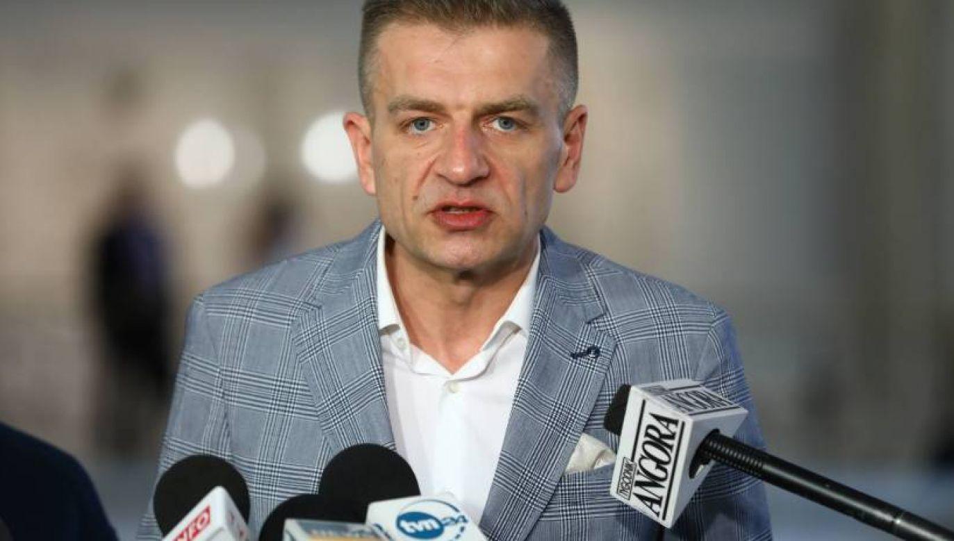 Dopóki Bratosz Arłukowicz pełnił rolę szefa sztabu wyborczego, był tak zapracowany, że nie miał czasu na pokazywanie się w mediach i wygłaszanie apeli (fot. Rałał Guz/PAP)