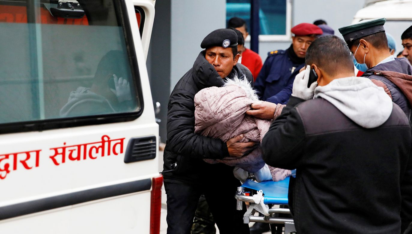 Czworo spośród ofiar to dzieci (fot. Reuters/Navesh Chitrakar)