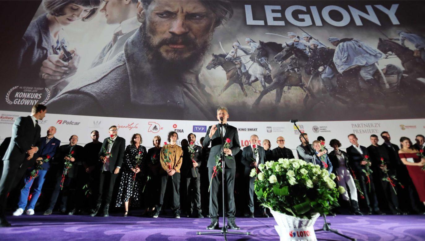 Producentem filmu jest Maciej Pawlicki (fot. PAP/Wojciech Olkuśnik)