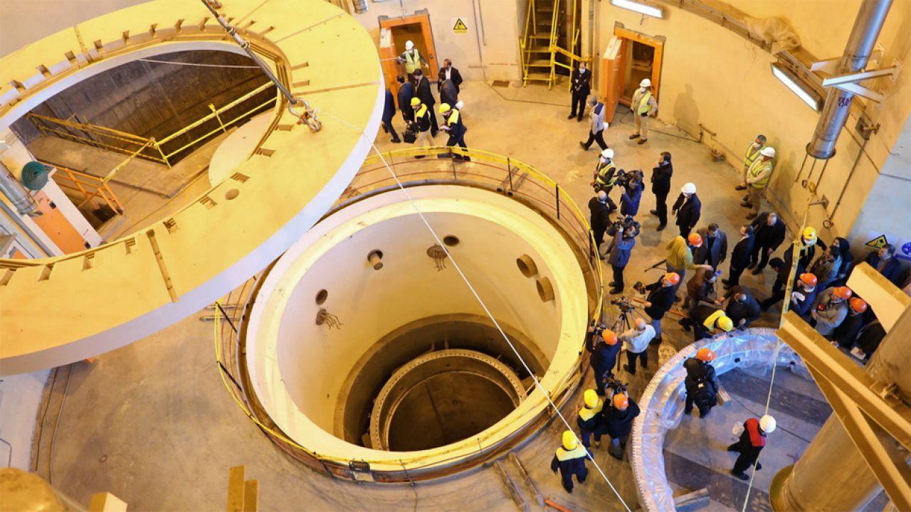 Iran zapewnia, że jego program nuklearny służy celom pokojowym (fot. PAP/EPA/IRAN ATOMIC ENERGY ORGANIZATION / HANDOUT)