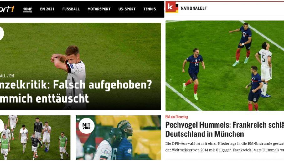 Reakcje Sport1.de i Kickera